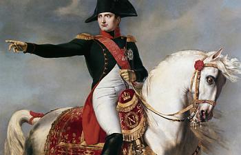På äventyr i Napoleon land.