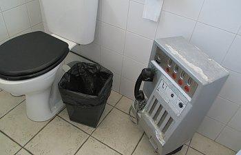 Franska toaletter.