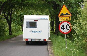 Första husbilsresan gick Östersjön runt - Based on a true story.