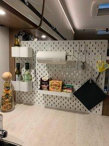 Smart köksavskärming och vi installerar inverter