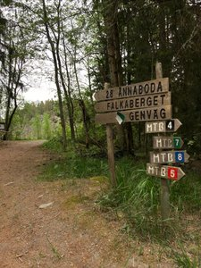 Falkaberget, naturreservat Ånnaboda
