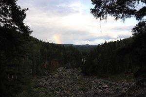 Döda fallet - en av Sveriges största naturkatastrofer