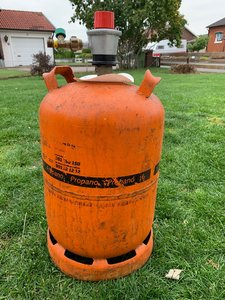 Spansk gasolflaska