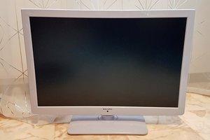 Led TV Salora 24NCW med DVD spelare säljes. Lämplig som köks-TV eller i ett campingsfordon då den kan drivas både med 220V och 12V.
